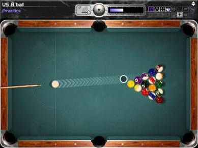 Screens Zimmer 9 angezeig: pc snooker game