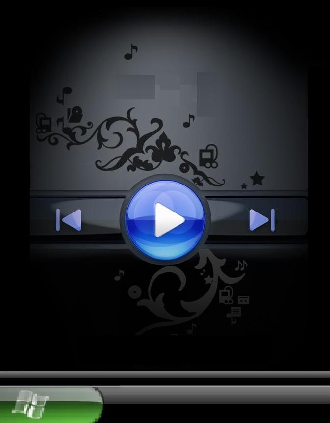 Интересная анимированая тема для Нокия в стиле Windows Media Player. . Теп
